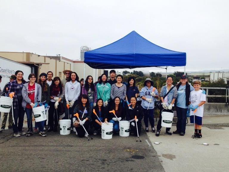 Coastal Clean-up: Earth Club